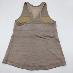 LULULEMON | Deep V Crossover Tank Shiny fabric